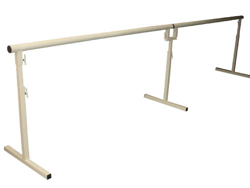 4.0m Freestanding and portable Ballet Barre Set