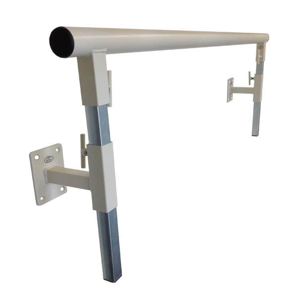 wall mounted ballet barre. 1.5 Metre Adjustable Wall Mounted Ballet Barre Set. WALLADJUSTBLACK WALLADJSUTBEIGE T